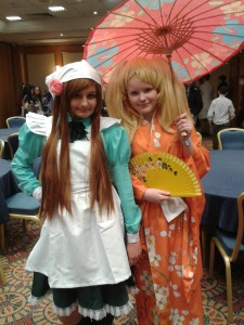 Pictured- Kiia Greenway and Aoife Butler Anime Dublin
