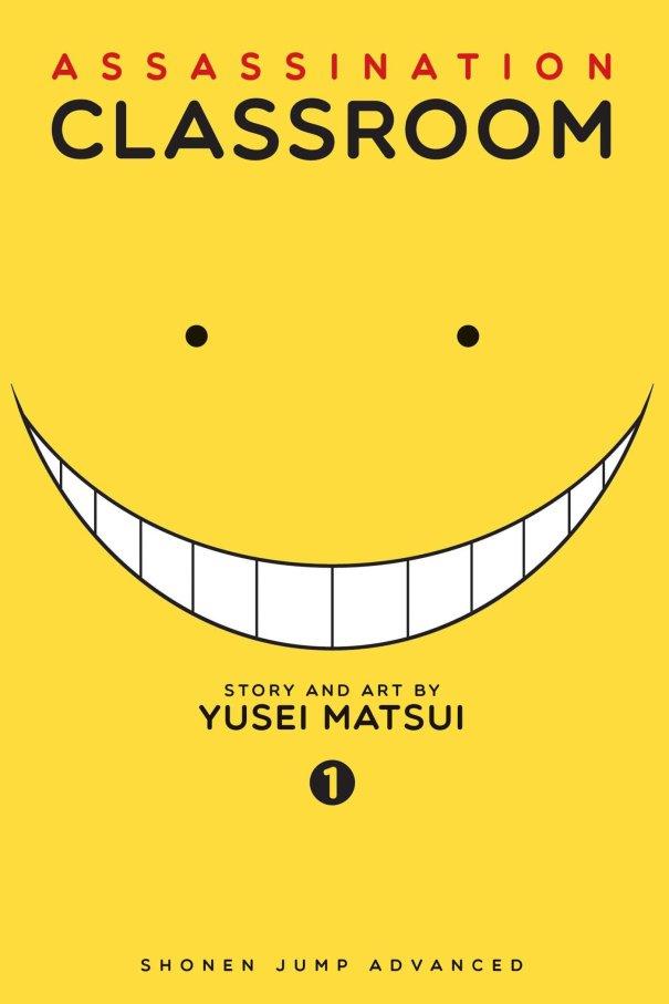 Assassination Classroom manga Volume 01 cover