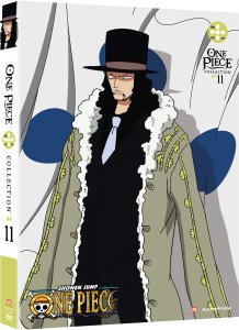 One Piece COllection 11 DVD cover