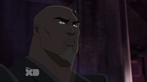 He was in it, remember? The guy from Blood Diamond and Gladiator? Yes, I could google him, but I'm not putting in more effort than the people who made the cartoon and that actor almost certainly didn't sign back up for this.