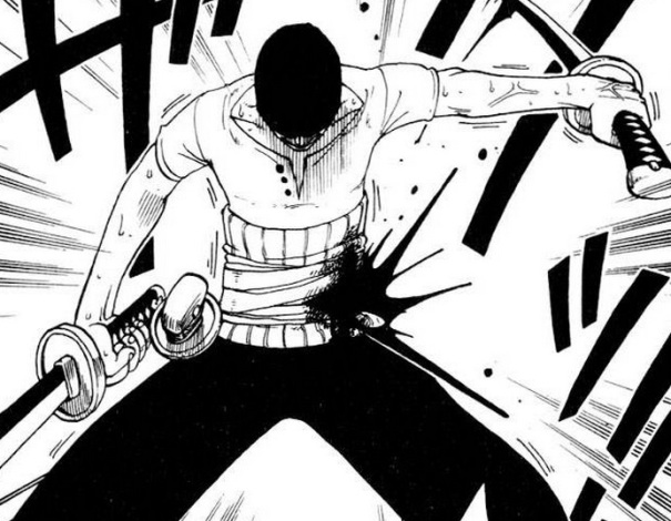 """My goal is to be the world's strongest swordsman… Is that enough of a handicap for you?"""