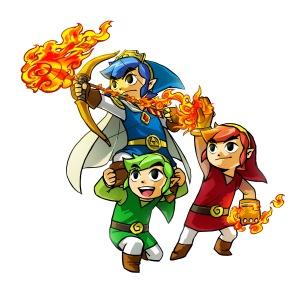 Legend of Zelda- Triforce Heroes