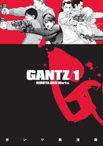 Gantz manga Volume 01 cover