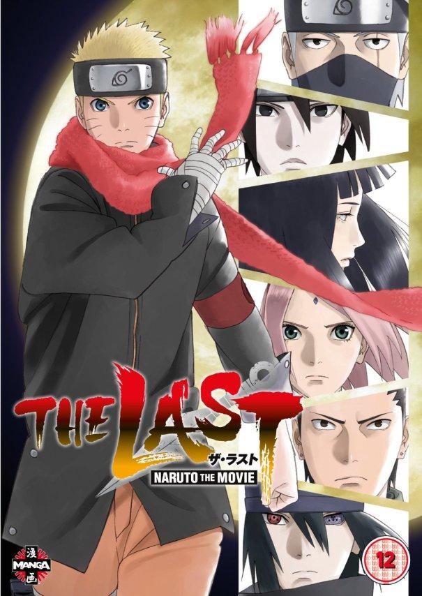 The Last Naruto Movie DVD box art