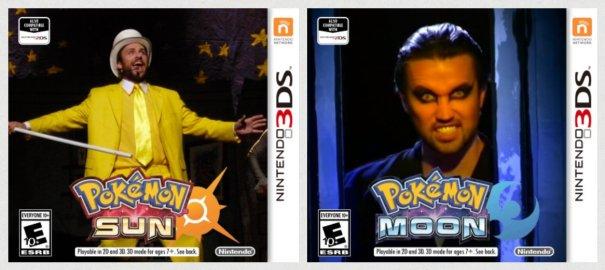 Moon Sun Pokemon Always Sunny Nightman Dayman