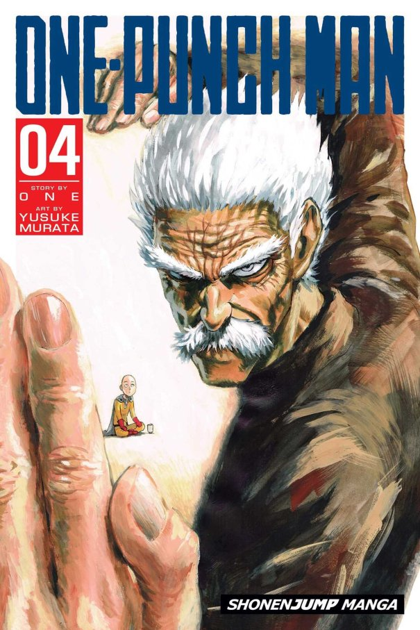 One Punch Man manga Volume 04 cover
