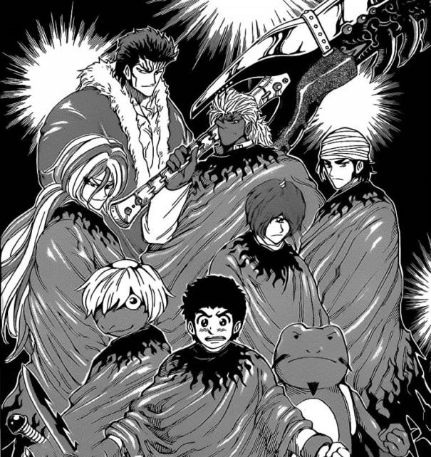 Toriko manga Volume 32 09